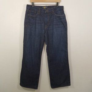 Lucky Brand 181 Relaxed Straight Jeans Size 34